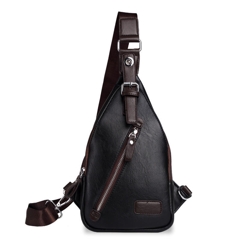 Navy Blue Black Antitheft Messenger Crossbody Bags for Men Boy 2019 Purses Handbags Single Shoulder Backpack Chest Bag