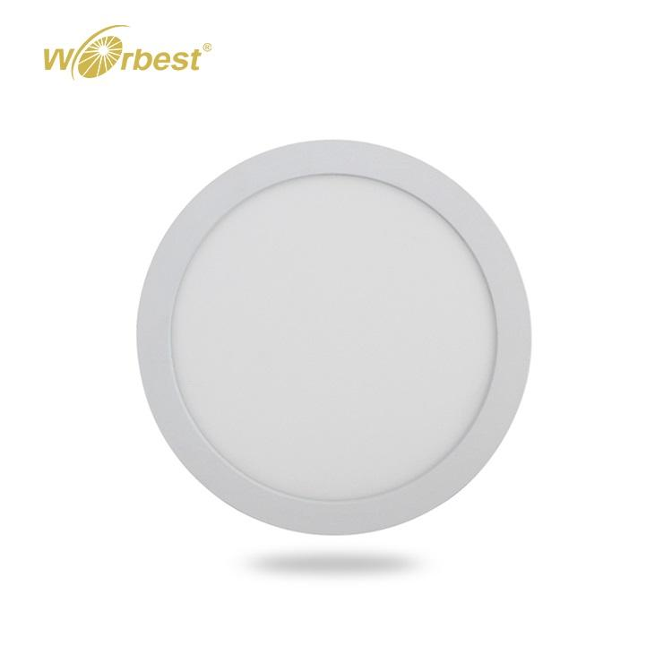 Worbest Etl Ultra Slim Putaran LED Panel Kecil PERMUKAAN MOUNT Indoor 6 W 12 W 18 W 24 W panel Datar Lampu