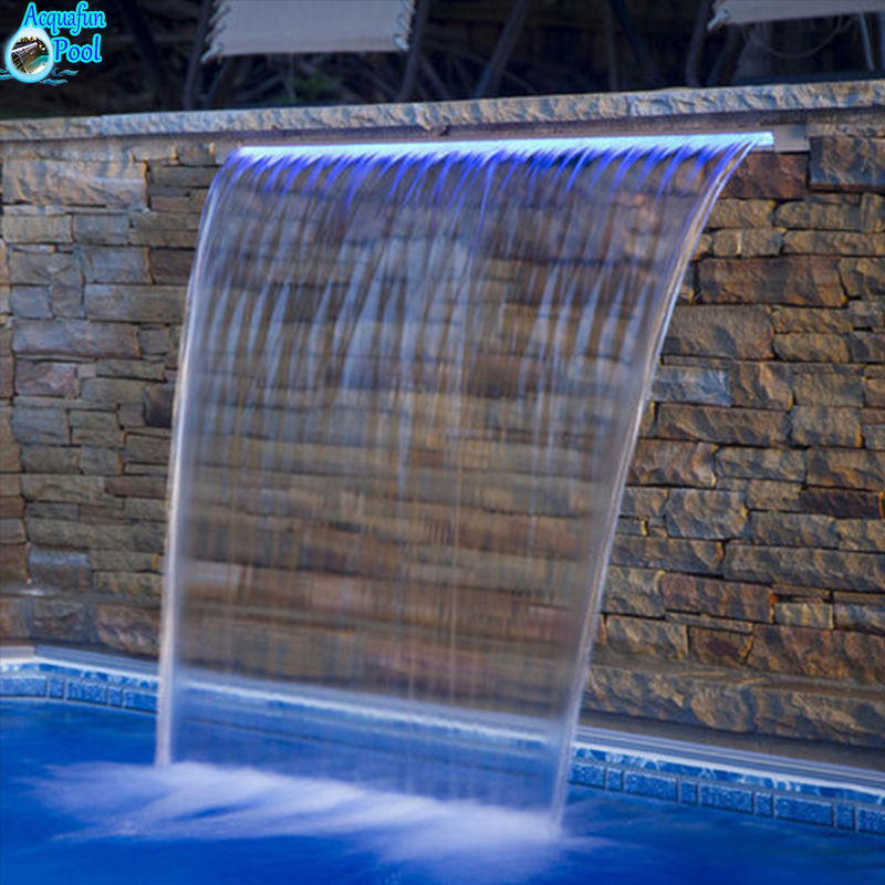 Outdoor garden ornament pool indoor artificial waterfall fountain wall water falls