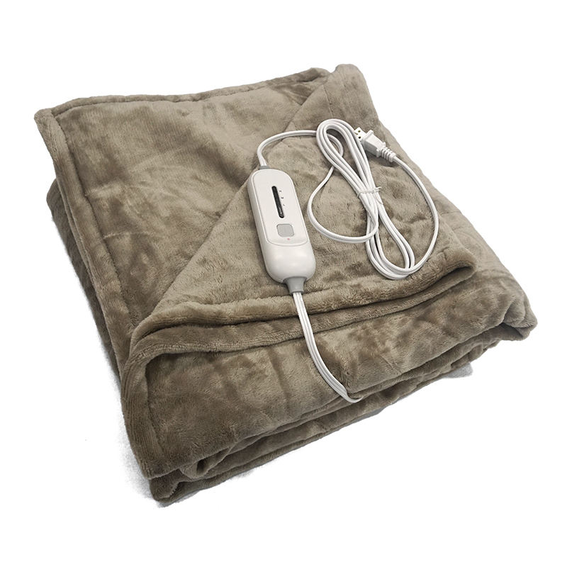 Adjustable Bed Bedding Heating 110V Therapy Electric Heated Throw Blanket