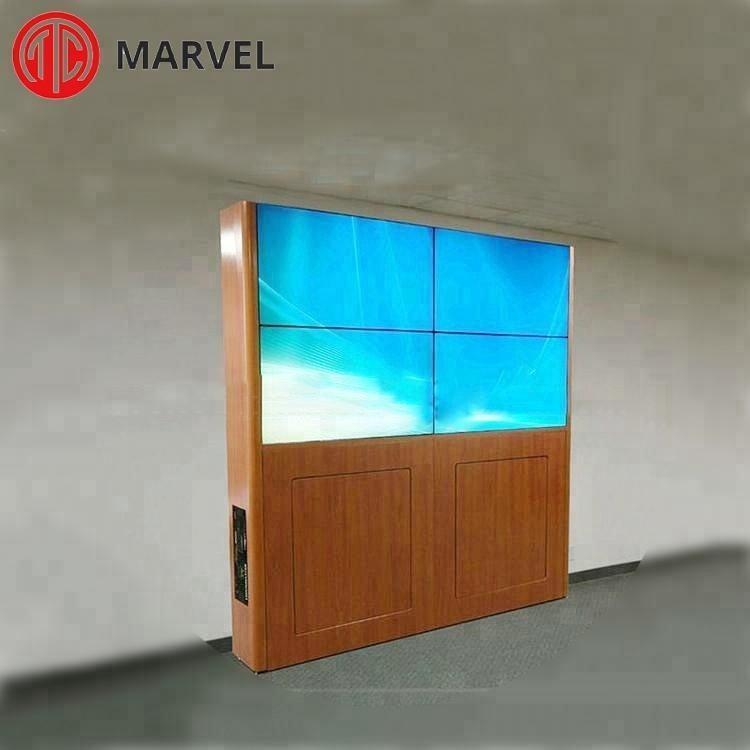 Narrow bezel HD a buon mercato porcellana 2*2 schermi <span class=keywords><strong>lcd</strong></span> video wall prezzo impermeabile pubblicità esterna