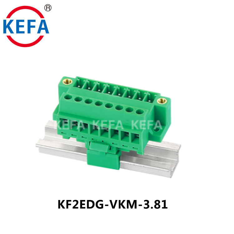KF2EDG-VKM-3.81 Plug-in Pluggable 3.81 MM PITCH Terminal BLOCK ไฟฟ้า