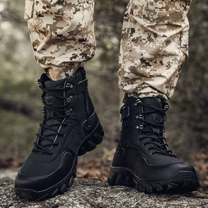 Men Military Army Boot 2020 New High Quality Waterproof Camouflage Tactical Combat Desert Ankle Boots Mens Shoes Plus Size 47