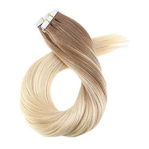 High quality Balayage Double Drawn Tape Hair Extensions Virgin Cuticle Human Hair extension tape hair Ombre