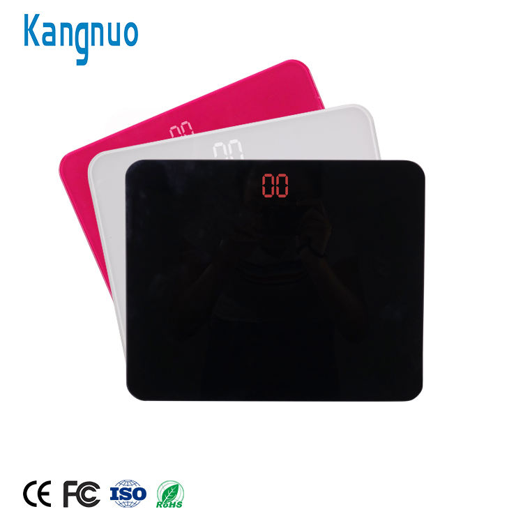 Tempered Glass CE 180Kg 396Lb Personal Adult Weight Electronic Digital Body Weighing Bathroom Scale