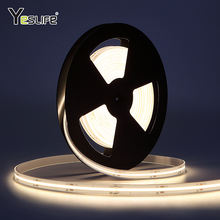 New Technology Flip Chip High Density Warm White IP65 Silicone Waterproof DC24V Flexible COB/FOB LED Strip