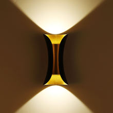 LED Wall Light Modern Bedside Wall Lamp decorative minimalist Background Staircase Aisle Corridor Wall Sconce Lighting