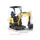 Excavator Digger New Yanmars 1.5t 1.5 Ton 1.5ton Mini Crawler Excavator Micro Digger For Sale