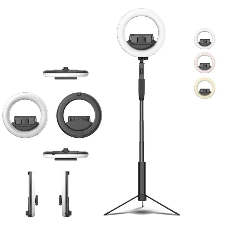 CYKE Q6 Portable 6 Inch Led Ring Light Selfie Abs Brightness Aro De Luz Beauty Live Broadcast Of Fill Light With Phone Holder
