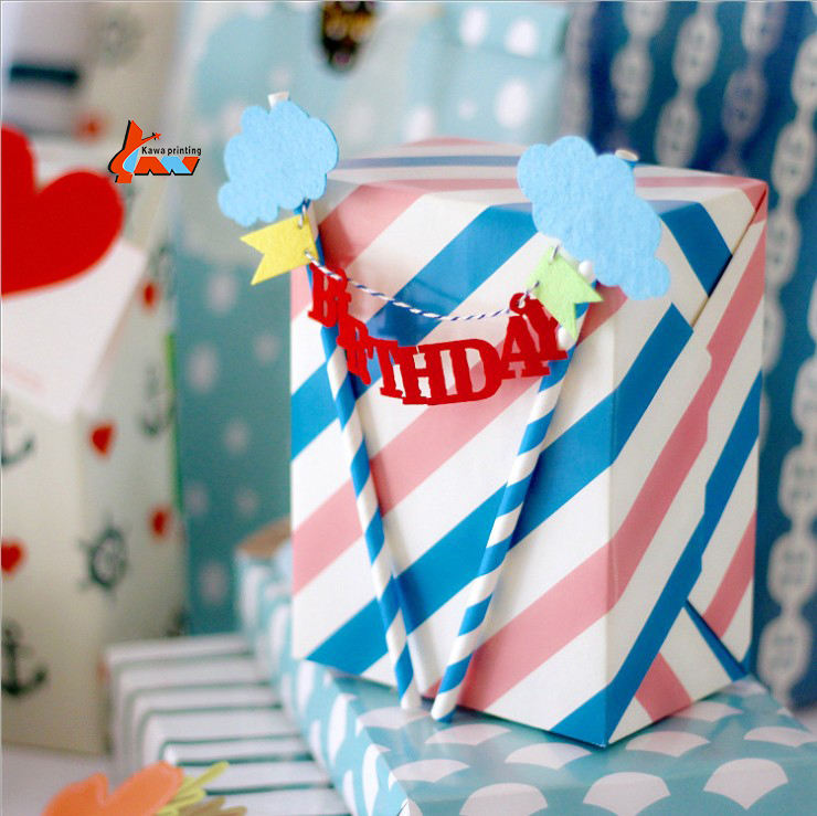 Designer custom logo offset paper tissue paper gift wrap for gift packaging