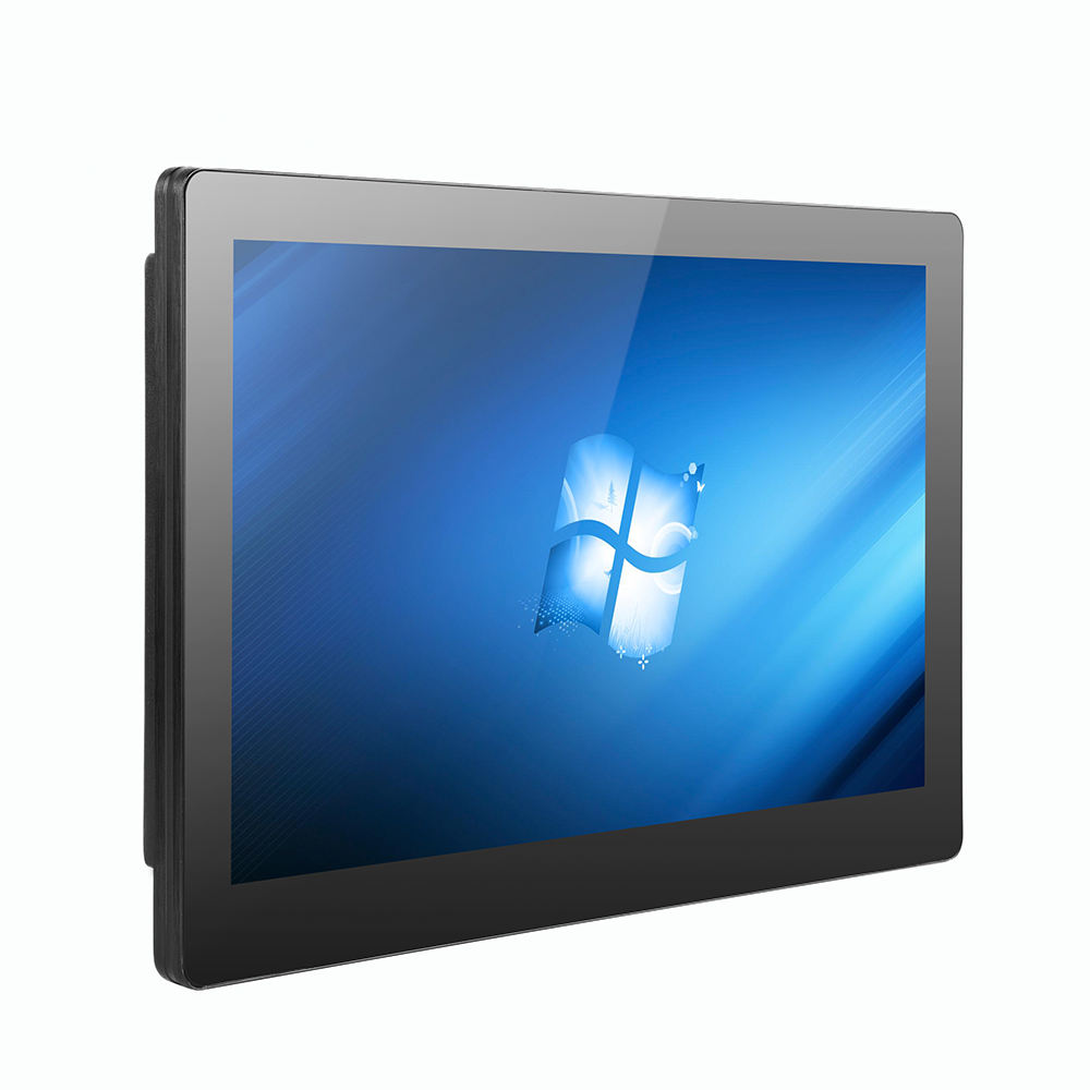 Bestview 15.6 inch industrial all in one touch screen panel pc sunlight readable lcd monitor with mini pc j1900 computer pc