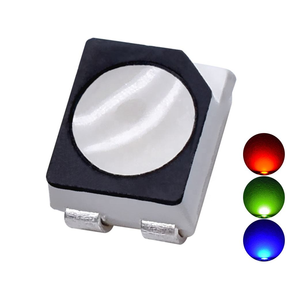 Czinelight Factory Wholesale Price Tri-color SMD 3528 RGB Gold Line Led Lighting Emitting Diodes