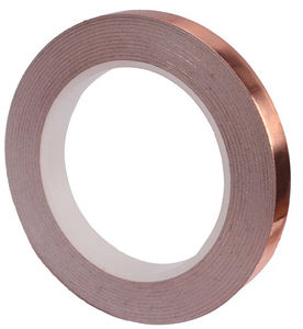 015mm 005mm 0.2mm 01mm Single Double Conductive Pure Shielding Die Cut Flakes Sheet Strip Insulated Adhesive Copper Foil