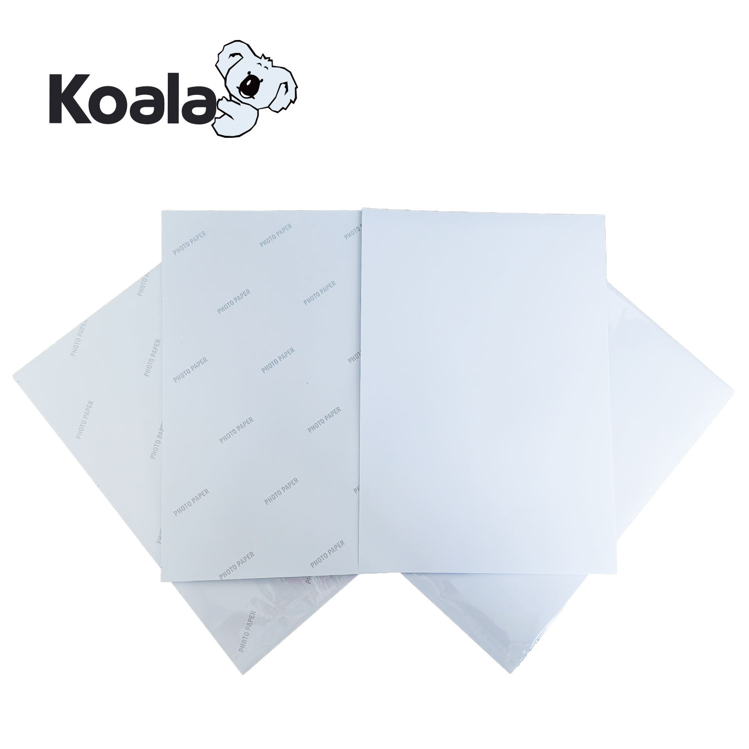 Photo Paper A4 Koala 135g Waterproof Inkjet Printable Glossy Sticker Photo Paper A4*50 Sheets