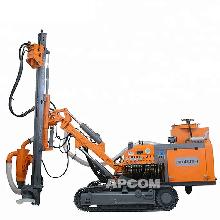 Logo Customization [ Dth Drilling Machine ] Blasting Hole Drilling Rig APCOM ZGYX 430 Blasting Dth Drilling Machine ZEGA Kaishan Surface Crawler Mining Hole DTH Drill Rig With Diesel Compressor