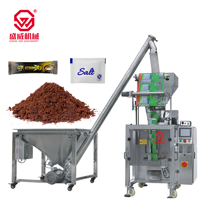 50g 100g 500g Multi-function Small Sachets Mill Coffee Washing Powder Spices / chili / masala powder Packing Machine