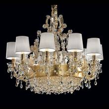 Simple fashion decorative led chandelier bedroom