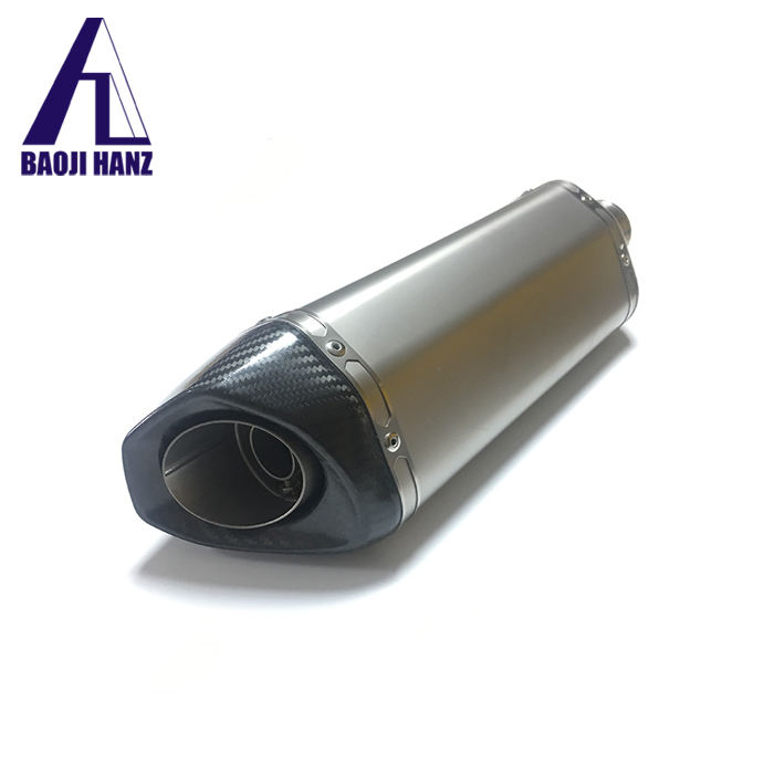 factory supplier titanium exhaust muffler