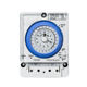 Timer Switch Battery Operated Chargeable 24-hour 15-minute Mechanical Timer Switch TB388