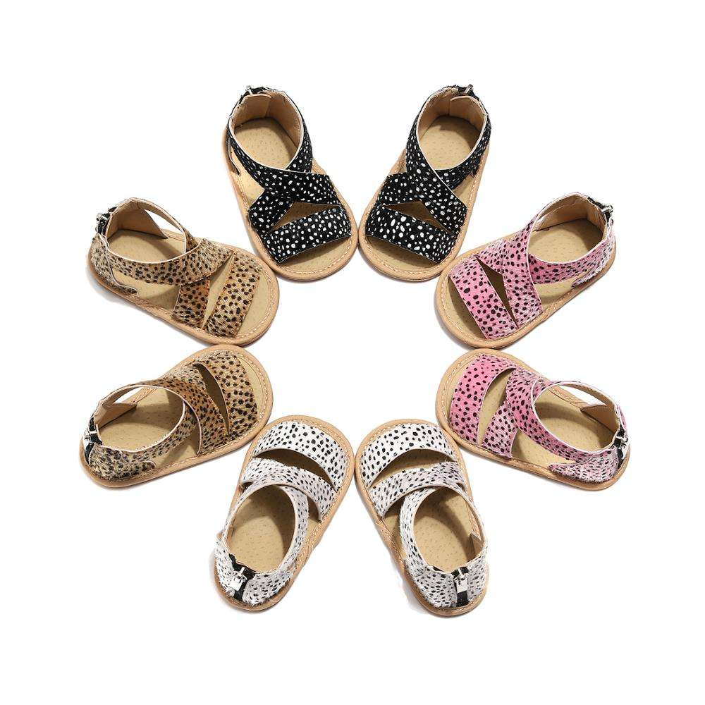 Leopard Summer Baby first walker Hard Sole for Girls Boys Newborn Shoes Soft PU Leather Baby Boys Moccasins Shoes