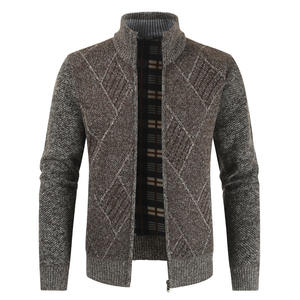 Men's Sweaters Autumn Winter Warm Thick Sweater Jackets Cardigan Coats Male Clothing Casual