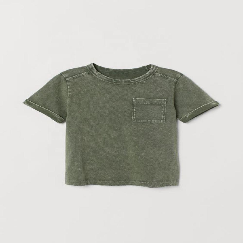 Anti bacterial,gots certified Kids t.shirt for baby boys
