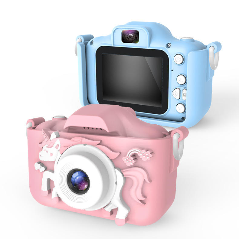 New wifi children's digital camera mini dual camera high-definition cartoon toy camera cross-border