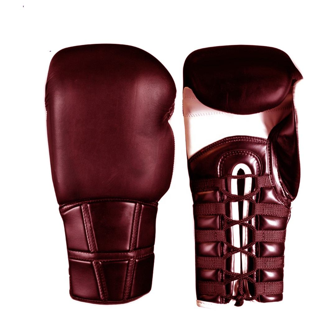 10oz.12oz.14oz leather fabric safety protection professional custom logo OEM combat fitness training using boxing fight gloves