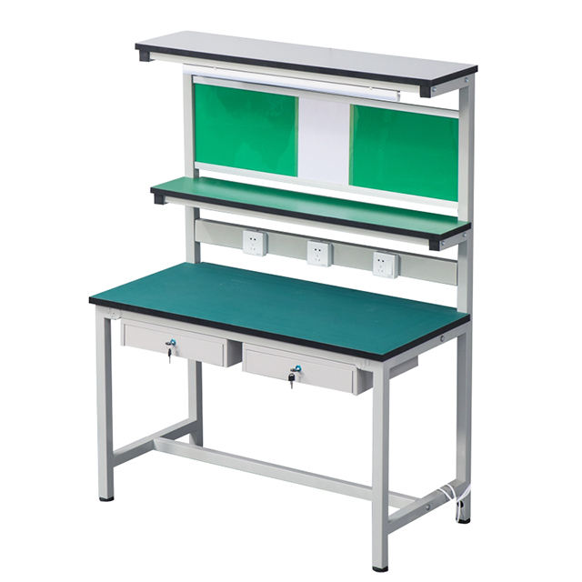 Antistatic Desk Assembly Anti-static Light Duty Aluminum Workbench