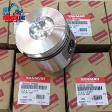 Best Quality Piston And Ring STD  4TNV88 3TNV88 4D88 3D88 129005-22080 for Komatsu Excavator Yanmar Diesel Engine Spare Parts