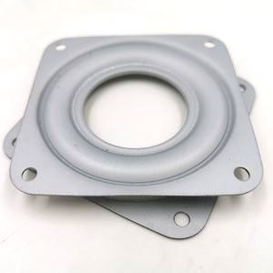 10 inch small square lazy susan swivel bearings for charger plates