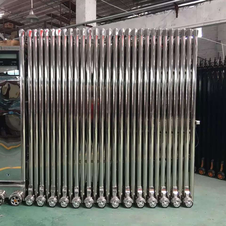 Automatic Stainless Steel Industrial Retractable Gates