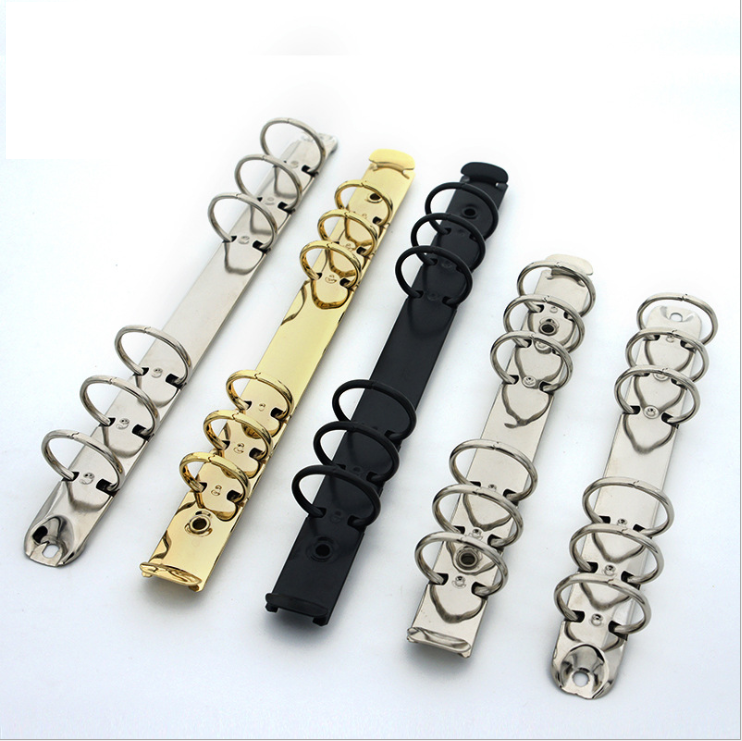 binder clip black shanghai stationery accessories metal 6 a7 ring binder planner and high quality 6 ring binder planner