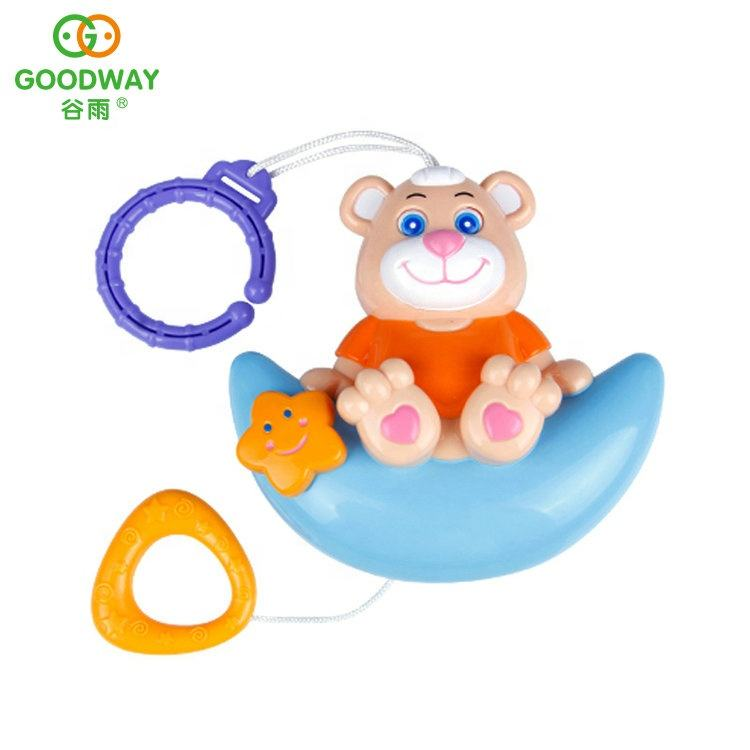OEM Service Cute Soothing Series Baby Toy Infant Funny Pull Bell