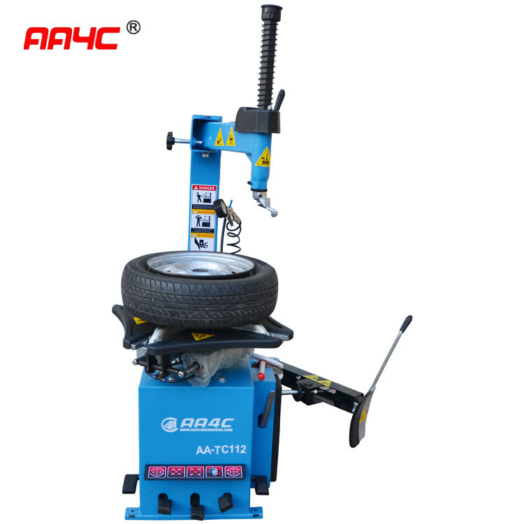 AA4C Semi Automatic tire changer with swing arm 5 pedal tire changing machine tire demount machine AA-TC112B