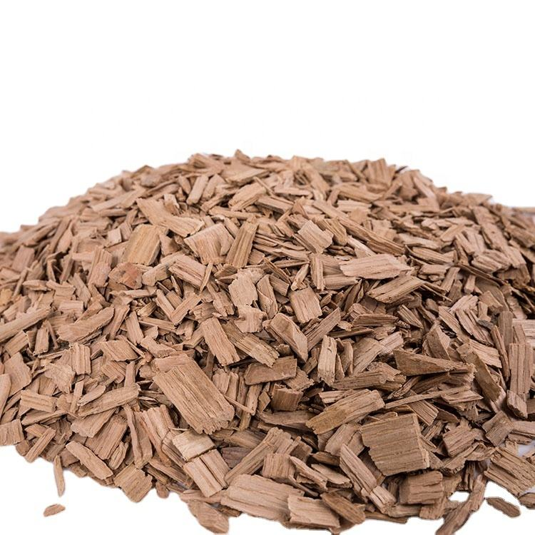 Hot Sale Quality Natural Color Medium Toasting Oak Wood Chips Prices