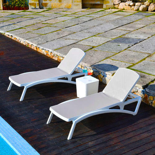 High Quality Outdoor Sunbed Rattan Furniture Daybed For Beach Sunlounge