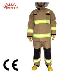 CE Certified Aramid Nomex Firefighting Jacket for Fire Fighters