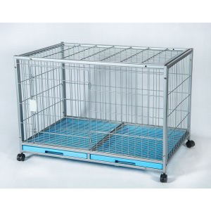 Various sizes stainless steel dog cage dog cages metal kennels outdoor cage for dogs
