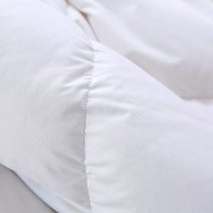 MT05 2020 Amazon Hot Selling Soft 100% Cotton Bed Pad Goose Duck Down Feather Mattress Cover /Mattress Topper