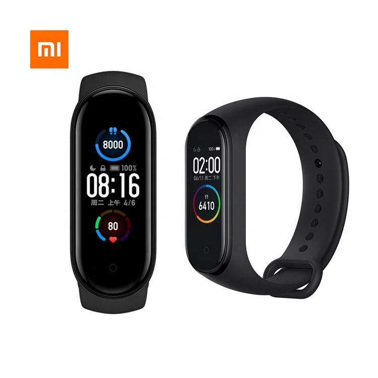 Globale Version Xiaomi Mi Band 5 Smart Armband Miband 5 Smart band Fitness Traker Sport Wasserdichtes Miband5 Smart Band