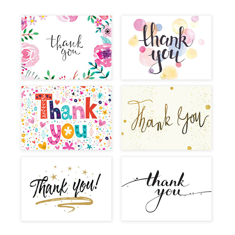 Custom Thank You Cards Printing for Business