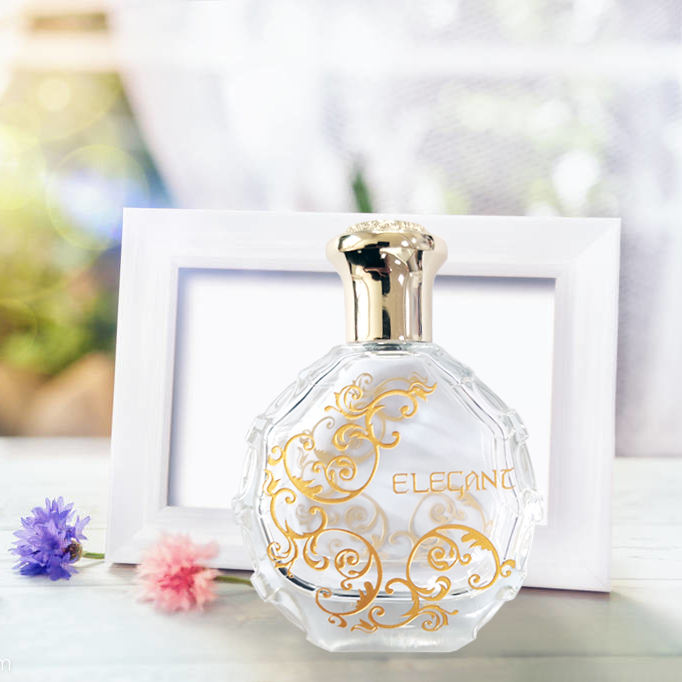 Fast response reliable supplier made arabic style glass perfume bottle with metal cap