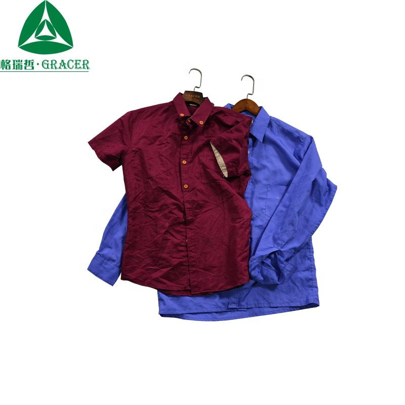 Second Hand Clothes Finland Used Button Down Shirt Men Seoul Korea Used Clothing