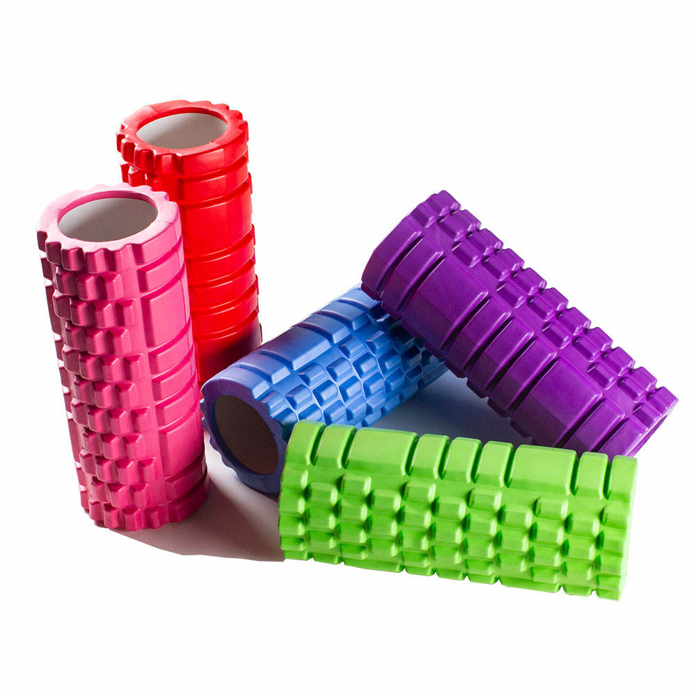 wholesale custom massage EVA for muscles pilates hollow yoga column Foam Roller set