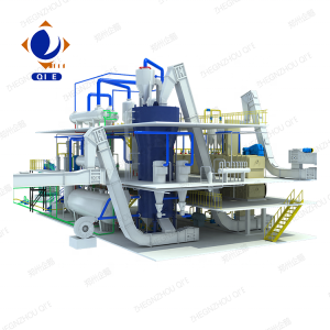 2020 New design edible oil processing machinery rice bran oil refinery plant