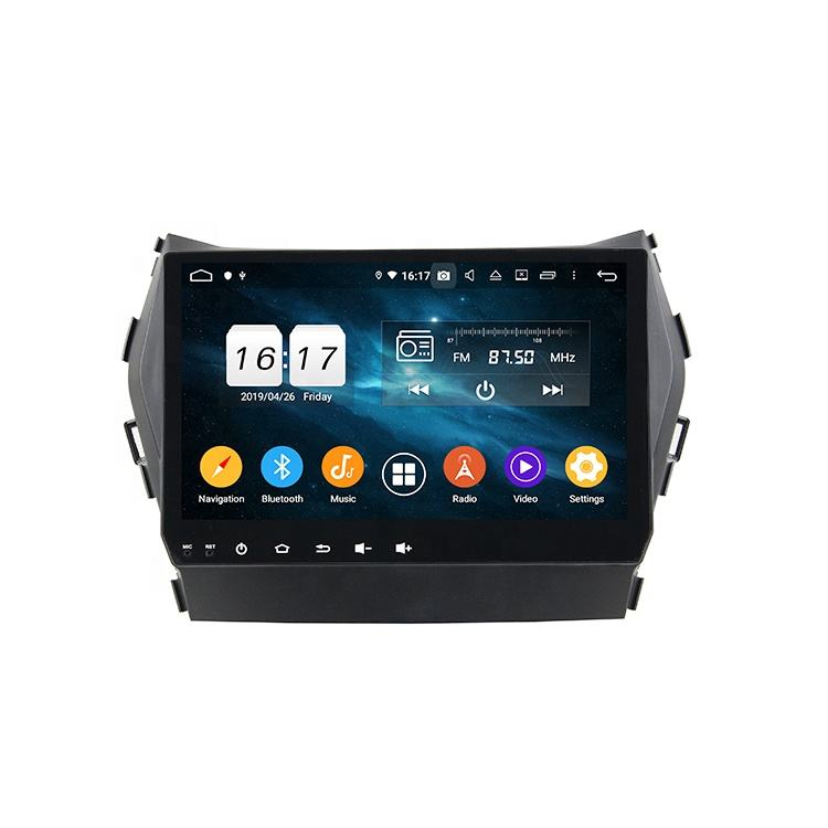 KD-9605 android universal car video audio system player dvd for IX45 / Santa Fe 2013-2014