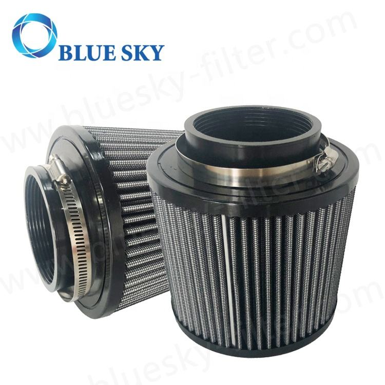 Universal Kunden Grau 3,2 ''82mm Automobil Air Intake Auto Filter