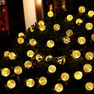 Trouwe T Outdoor Decoratie Led Licht Ketting Cristmas Solar Powered Outdoor Led String Licht