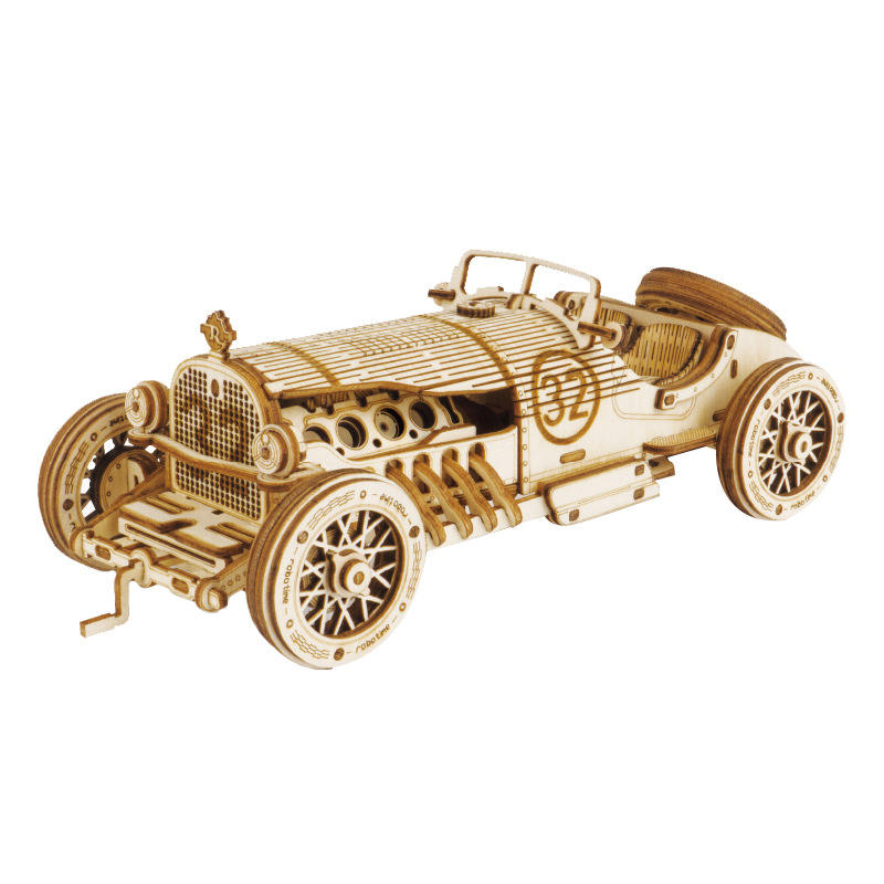 Plywood Collectible Model - Wooden 3d Puzzles for Adults by UGEARS